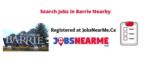Barrie: jobsnearme.ca