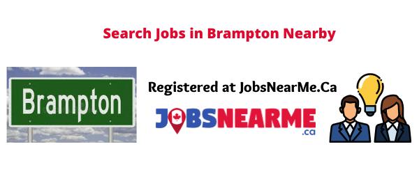 Brampton: jobsnearme.ca