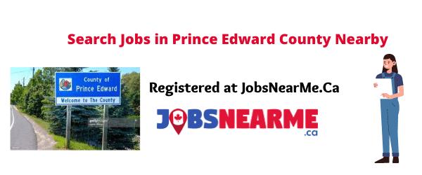 Prince Edward County: jobsnearme.ca
