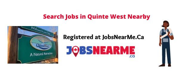 Quinte West: jobsnearme.ca