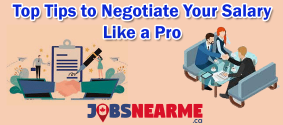 Top Tips to Negotiate Your Salary Like a Pro Jobs Near Me