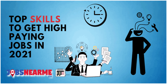 Top skills to get high paying jobs near me