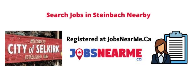 Steinbach: jobsnearme.ca